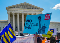 2018.06.26 Muslim Ban Decision Day, Supreme Court, Washington, DC USA 04021