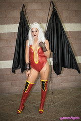 Mirajane Satan Soul cosplay (The Doppelganger) Tags: mirajane satansoul mirajanestrauss fairytail anime cosplay cosplayer boots sexycosplay animenext animenext2018