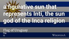 Flag of Uruguay #WorlfCup (dullhunk) Tags: worlfcup inti sun sungod uruguay inca