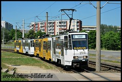 352-2010-06-28-3-Nürnberger Straße (steffenhege) Tags: gera gvb strasenbahn streetcar tram tramway ckd kt4d ktnf8 352