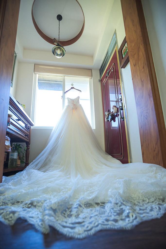 0003婚禮紀錄-婚攝-白紗