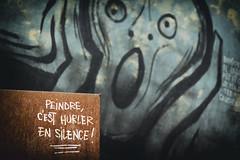 Painting is a silent scream ! La demeure du chaos (Gui.llau.me) Tags: paint is scream silence la demeure du chaos abode art street urban peindre cest hurler en color exploration explorating explore explorer exploring pain