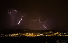 lightstorm above Evian city (Florian GIORNAL) Tags: lightstorm above evian city orage foudre eclair storm lightning cloud nature land sky ciel thunder long exposure