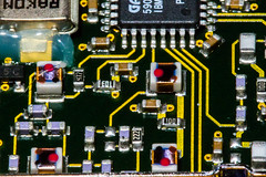 Macro Mondays:  Inside Electronics (Glotzsee) Tags: macromondays insideelectronics