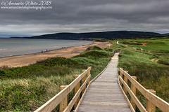 Inverness Beach Boardwalk (sminky_pinky100 (In and Out)) Tags: inverness capebreton novascotia beach landscape scenic travel tourism outdoors omot cans2s boardwalk dunes coastal atlanticcanada wooden walk