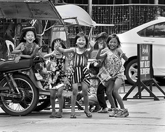Girls (Beegee49) Tags: street children girls playing laughing bacolod city philippines