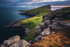 Scotland - Neist Point (030mm-photography) Tags: rot schottland scotland uk vereinigteskönigreich neistpoint landschaft landscape nature natur reise travel sunset sonnenuntergang klippe cliffs rocks felsen küste coast