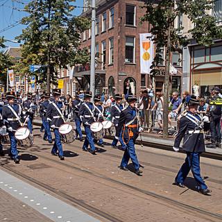 Trompetterkorps der Koninklijke Marechaussee - Veteranendag 2018