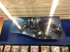 Transformers Optimus Prime banner (splinky9000) Tags: kingston ontario wal mart