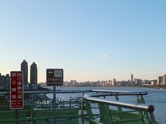 八里關渡大橋.還真沒啥雲 (nk@flickr) Tags: taiwan 20180714 cycling 台北 台湾 taipei 八里 bali 台灣 canonefm22mmf2stm