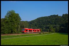 DB 650 307, Horb am Neckar 28-08-2017 (Henk Zwoferink) Tags: henk zwoferink horb am neckar neckartal stadler db regio regioshuttle 650 307