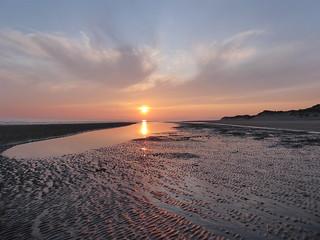 Sunset looking toward the Llyen Peninsula