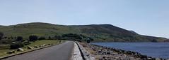 D18743x.  The Dam at Llyn Celyn. (Ron Fisher) Tags: llyncelyn reservoir lake mobilephone snowdonia gwynedd gogleddcymru cymru northwales wales gb greatbritain uk unitedkingdom europe water