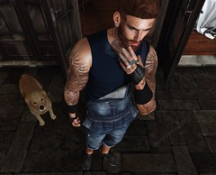 Unbreakable (AW02) Tags: sl secondlife photography mesh outfit avatar style clo apparels poses tattoo appliers equal10 events tmd themenjail legalinsanity realevilindustries pbm nativeurban wrong stealthic baron prodigyink 7prodigy