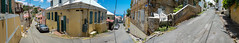 City Streets (tquist24) Tags: charlotteamalie outdoor samsung samsunggalaxys7 stthomas usvirginislands virginislands building buildings car cars cellphone city clouds color colorful geotagged hill island panorama panoramic sky street streets tropical