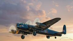 BBMF Lancaster PA474 (daveduke) Tags: lancaster bbmf battle britain mem battleofbritainmemorialflight southportairshow2018 pa474 arlleader vnt rafconingsby airshow