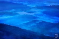 Blue Ridge Mountains, Twilight (Del.Higgins) Tags: hollow blue ridge park parkway north carolina tennessee asheville americas road sunrise hour fog mist smoky mountains range blueridgemountainrange twilight mills river valley overlook