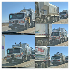 Garbage Truck Collage 7-2-18 (Photo Nut 2011) Tags: california garbagetruck trashtruck sanitation wastedisposal waste truck garbage junk trash refuse sandiego miramar