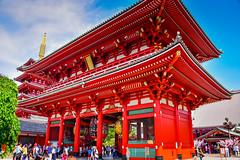 Asakusa Hōzōmon Treasure House Gate - Tokyo Japan (mbell1975) Tags: taitōku tōkyōto japan jp asakusa hōzōmon treasure house gate tokyo asia temple shrine portal tor gateway hozomon 宝蔵門