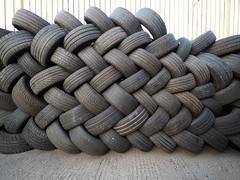 tyrewall (chrisinplymouth) Tags: tyre car plymouth devon england uk city urban cw69x tire used pile urb xg