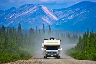A road through wilderness