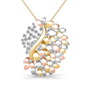 Venus Bouquet Diamond Pendant
