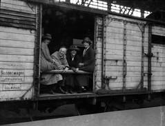 Germany set (foundin_a_attic) Tags: germany deutschland reichsbahn bahnhof güterwagon sonderwagen