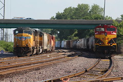 KCS 4141 (CC 8039) Tags: kcs up trains sd70m sd70ace mitchell illinois