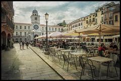 Estate in Piazza dei Signori - Padova - (Raul-64) Tags: padova veneto italia italy citta texture olimpus lumix