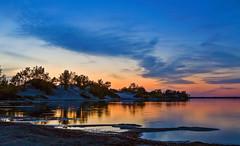 Westlake at Sandbanks Provincial Park after Sunset, Prince Edward County, Ontario, Canada (klauslang99) Tags: klauslang nature naturalworld northamerica canada sandbanks provincial park westlake sanddunes evening sunset lake ontario prince edward county