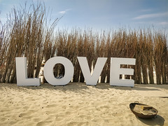 7DWF - CTT - Signs, posters or advertisements (stefanfricke) Tags: zandvoort noordholland niederlande nl love sand beach oneplus 7dwf crazytuesdaytheme signspostersoradvertisements symbol