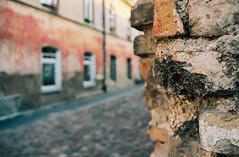 Walls of Vilnius (no.sad.tomorrow) Tags: walls history streets architecture vilnius lietuva lithuania filmphotography portra160 portra kodak kodakportra yashika fx3 super2000 analogphotography analog