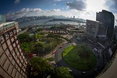 The not so distant future (overgroun) Tags: kwun tong hong kong kowloon rooftopping roof hacker kai tak asia fisheye 15mm canon