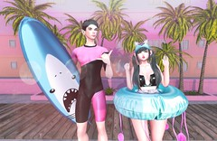 Look 271 | meet you in the summer (Jin (Jarhly Resident)) Tags: caboodle riot stealthic ayashi asteroidbox amitomo paparazzi