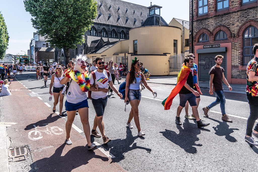ABOUT SIXTY THOUSAND TOOK PART IN THE DUBLIN LGBTI+ PARADE TODAY[ SATURDAY 30 JUNE 2018] X-100224
