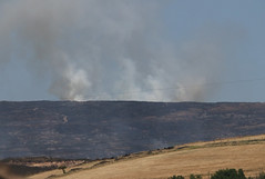 Moorland Fire Tuesday PM (NTG842) Tags: moorland fire tameside saddleworth moors day10