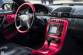 Mercedes CL interior