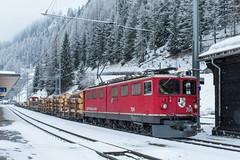 RhB 704 Ge 6/6 II Bergun (Hans Wiskerke) Tags: bergünbravuogn graubünden zwitserland ch