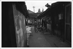 HengMian42 (nickthepluto) Tags: shanghaigp3 zeiss ikon zm biogon 2828 bw d76 film