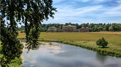 Kedleston Hall- National Trust (seantindale) Tags: kedlestonhall nationaltrust england summer river olympus omdem5markii explore bluesky travel uk
