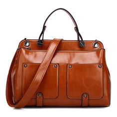 e41ab6b94e Women Retro Handbags Motorcycle Leather Bags Messenger Bags (1251886)   Banggood (SuperDeals.