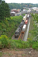Meet Me at the Tunnel (craigsanders429) Tags: norfolksoutherntrains norfolksouthern stacktrains nsstacktrains containertrains gallitzinpennsylvania nspittsburghline pennsylvania