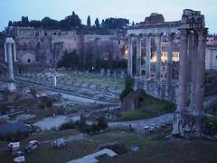(procrast8) Tags: rome italy forum column phocas temple saturn vespasian titus basilica julia