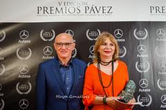 Julio Díaz y Paloma Abad (Premios Pávez) Tags: festival premios pávez pavezones cine evento premiados cortos cortometrajes cortometrajistas artistas photocall categorías actrices actores teatropalenque talavera teatro palenque entregadores