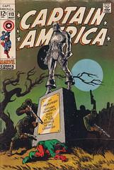 Captain America #113 (micky the pixel) Tags: comics comic heft superhero marvel jimsteranko captainamerica steverogers statue hydra bucky rickjones