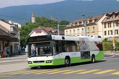 2018-07-08, transN, Boudry (Fototak) Tags: autobus bus volvo neuchâtel transn ligne613 211 switzerland