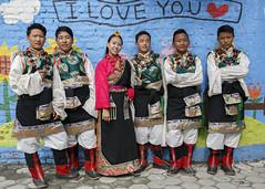 Backstage (Tenzin Samphel) Tags: srongtsenschool artist students tibetan culture dress amdo chupa beautiful powerofculture tenzinsamphelphography kathmandu nepal