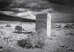 Ruins (dwblakey) Tags: chalfant desert bishop monocounty junk clouds california ruins mining monochrome easternsierra blackandwhite quarry outdoors history concrete volcanictableland volcanictablelands cement unitedstates us