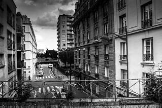 Paris, petite ceinture, b&w, 10