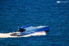 Ion (Wally Power 64) - 19,40m - Wally (Raphaël Belly Photography) Tags: rb raphaël monaco raphael belly photographie photography yacht boat bateau superyacht my yachts ship ships vessel vessels sea motor mer m meters meter ion wally power 64 19m 19 blue bleu bleue